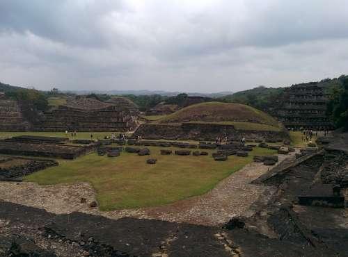 Tajin Pyramid Mexico El Tajin Mayan Aztec Inca