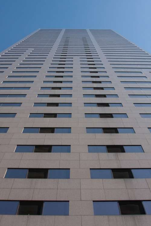 Tall Tower Building Architecture Modern Building