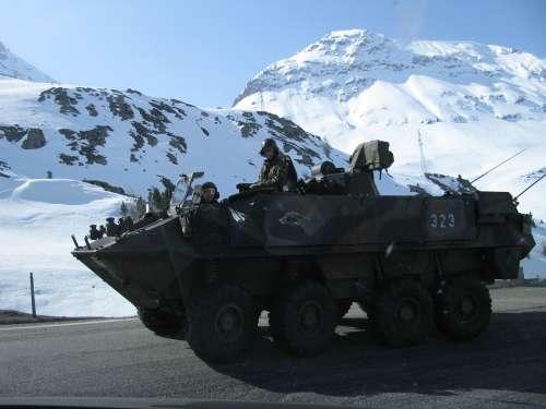 Tank Mountain Snow