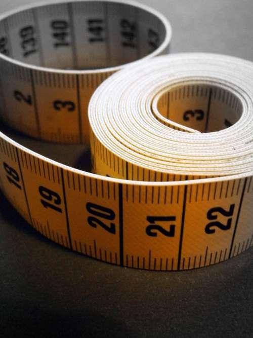 Tape Measure Measure Take Measurements Number Digit