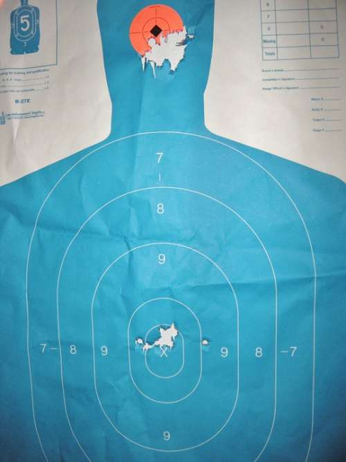 Target Target Practice Gun Range Shooting Aiming