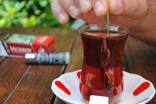 Tea Turkish Drink Food