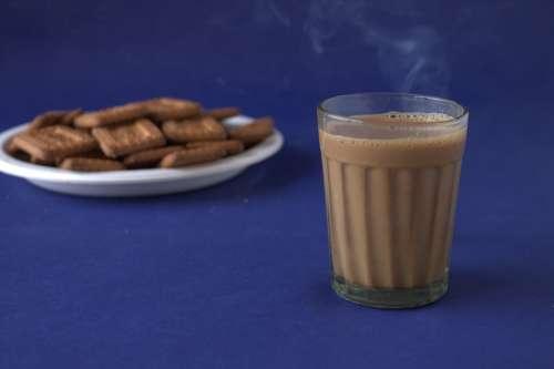 Tea Biscuits Cookies Coffee Hot Food Dessert