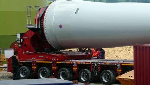 Technology Rotor Blades Wind Turbine Heavy Transport