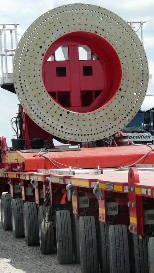 Technology Heavy Transport Rotor Blade Wind Turbine