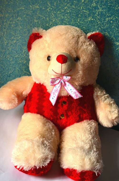 Teddy Bear Plush Toy Cute Teddy Bear Toy