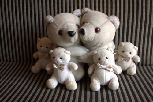 Teddy Bears Plush Toys Teddy Bears Happy Family