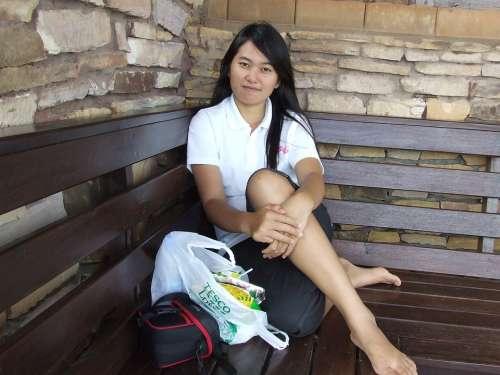 Teenager Girl Woman Female People Thai Thailand