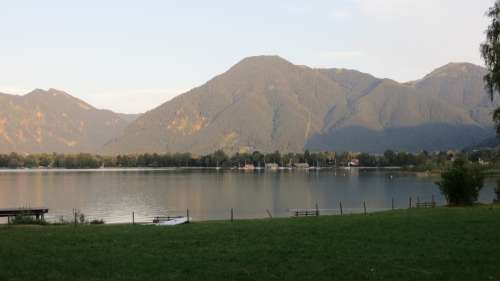 Tegernsee Landscape Nature Vacations Recovery