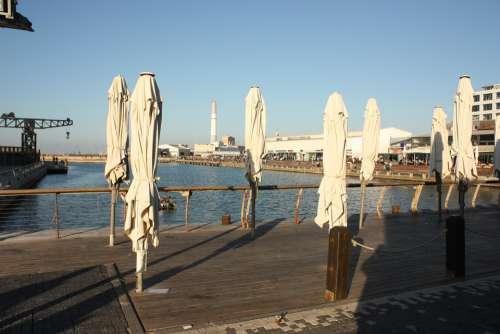 Tel-Aviv Israel Mediterranean Sun Port Jaffa