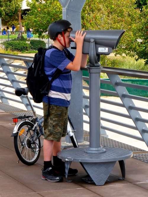 Telescope View Surveillance Binocular Observe