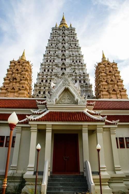 Temple Input Buddhism Thailand Sanctuary Buddhist