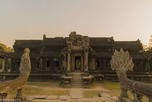 Temple Angkor Pagoda Religious Temples Naga