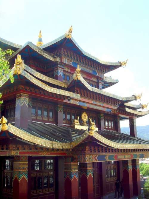 Temple Traditional Culture Religion Asia
