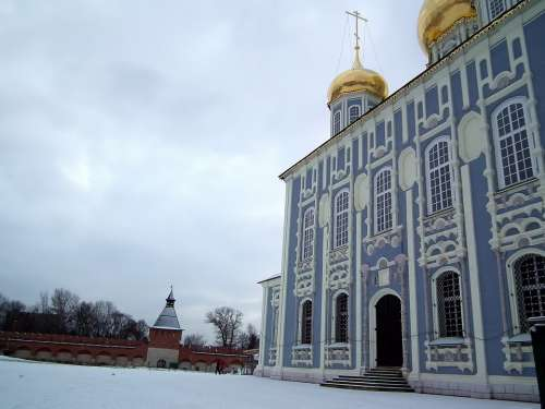 Temple Church Christianity Religion Sky Russia