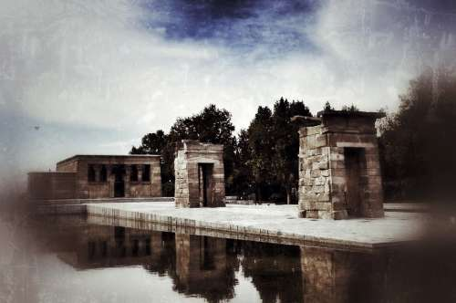 Temple Of Debod Completo De Debod Temple Madrid