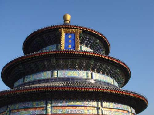 Temple Of Heaven Temple Beijing China