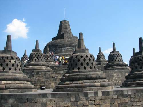 Temples Indonesia Holiday Borobudur