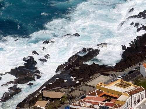 Tenerife Canary Islands Landscape Nature Spain Sea