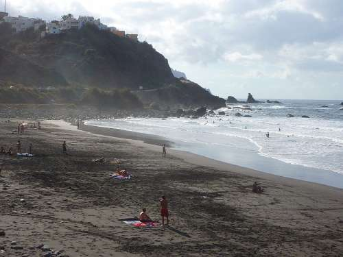 Tenerife Beach Anaga Benijos Taganana Nature Is
