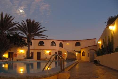 Tenerife Hotel Abendstimmung
