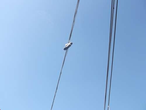 Tennis Sky Blue Phone Lines