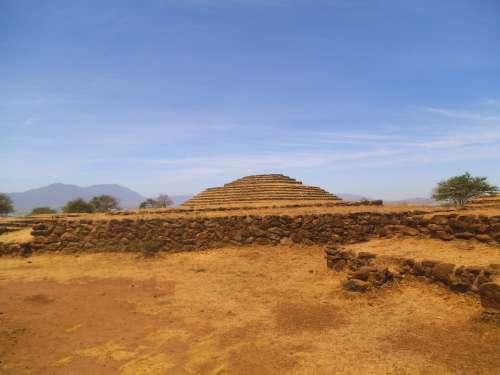 Teotihuacan Pyramid Aztecs Inca Mexico