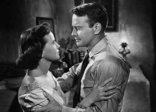 Teresa Wright Lew Ayers Actress Actor Film Stage