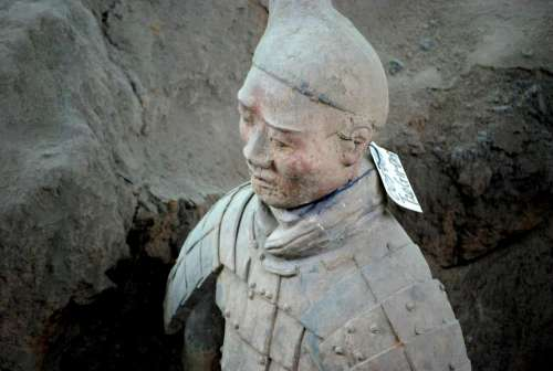 Terracotta Warriors Army Ancient Military Buried