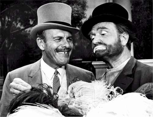 Terry Thomas Red Skelton English American Comedians