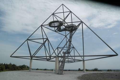 Tetrahedron Bottrop Germany Ruhr Area