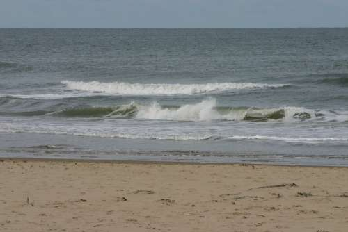 Texel Island Beach Sea Sand Ocean Water Blue
