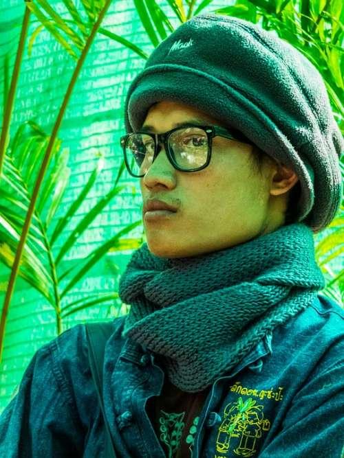 Thai Man Portrait Asia