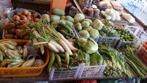 Thailand Thai Kitchen Eat Food Nutrition Feed