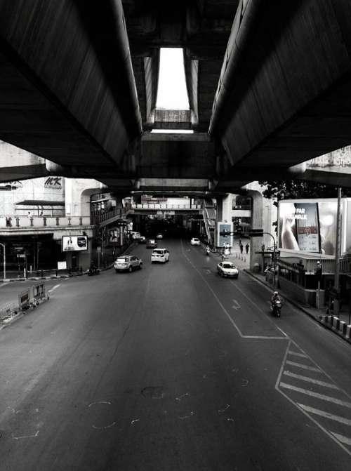 Thailand Road Landscape Thai Transportation Street