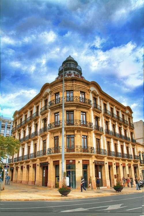 The Butterflies Building Puerta Purchena Almeria
