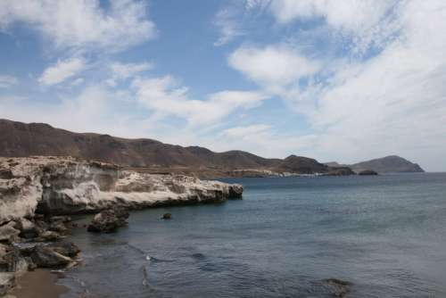 The Escullos Beaches Landscapes Tourism Níjar
