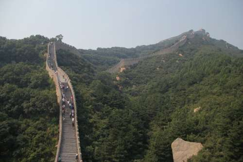The Great Wall Mountain Stream