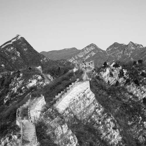 The Great Wall Beijing The Scenery Monuments