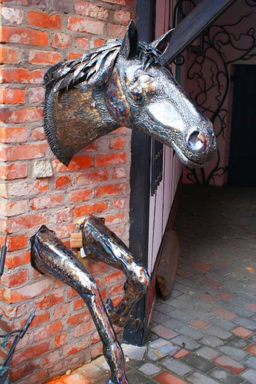 The Head Of The Horse Ranch Metal