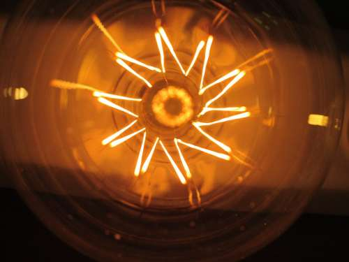 The Light Bulb The Filament Lighting Current