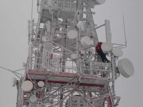 The Mast Winter Snow