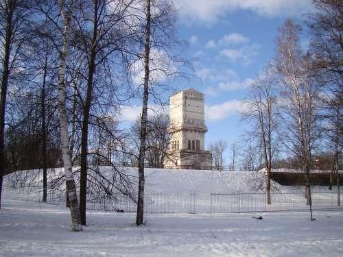 The Palace Ensemble Tsarskoe Selo St Petersburg Russia