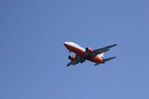 The Plane Sky Greece