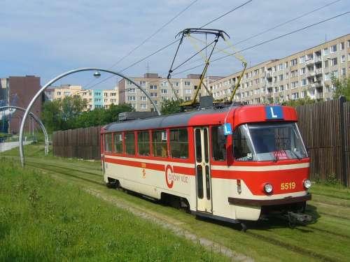 The Tram School Track Prague Barrandov
