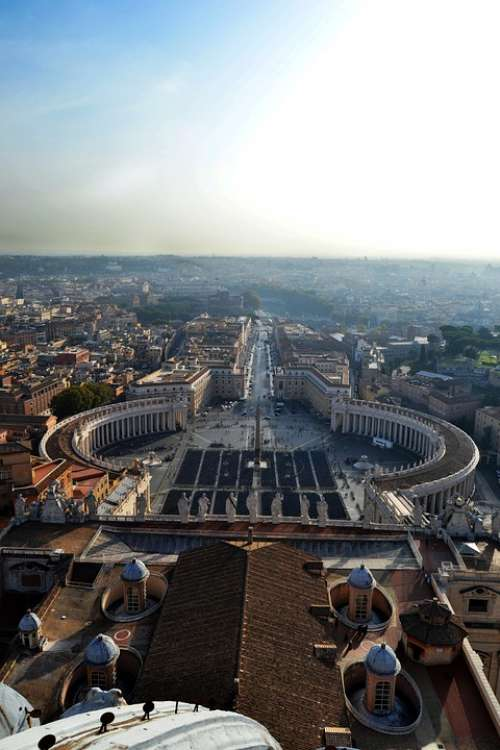 The Vatican Chapel The Dome Italy
