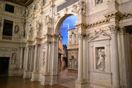 Theatre Vicenza Palladio Italy City Of Vicenza