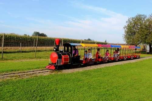 Theme Park Tour Railway Children Fun Train Visit