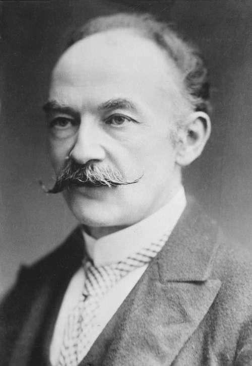 Thomas Hardy Novelist Poet Man Person English