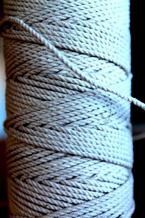 Thread Spool Twine Sew Hemp Rope